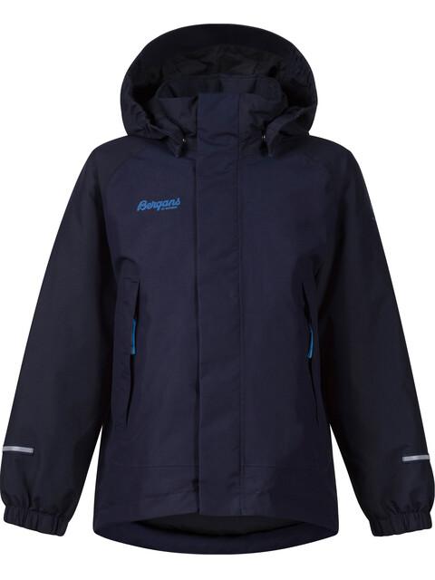 """Bergans Kids Storm Insulated Jacket Navy/Dark Navy/Athens Blue"""